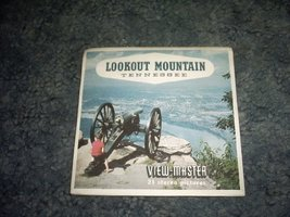 Lookout Mountain Tennessee Viewmaster Reels A876 [Slide] SAWYERS - $16.91