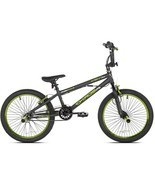 "20"" Kent Chaos Boys' Bike, Matte Gray/Green - £81.76 GBP"