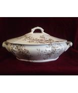 1883-1891 Parisian Granite Washington Pattern Tureen/Serving Bowl T G & ... - $65.44
