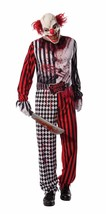 Rubies Evil Clown Scary Creepy Killer Adult Mens Halloween Costume 810510 - $49.99