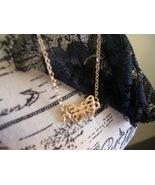 Petite goldtone butterfly charm bracelet - $7.00