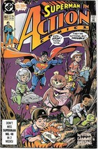 Action Comics Comic Book #657 DC Comics 1990 FINE+ - $1.75