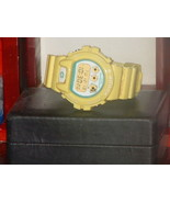 Pre Owned Casio Yellow LRG Edition G-Shock DW69... - $158.40