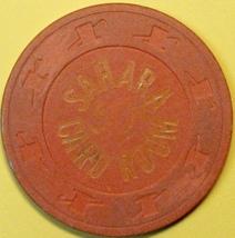 50¢ Casino Chip. Sahara, Las Vegas, NV. 1952. Card Room. E60. - $6.50