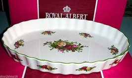 Royal Albert OLD COUNTRY ROSES Large Oval Baker Micro/Freezer/Dishwash S... - $44.90