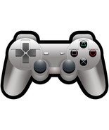 Playstation controller vinyl shaped decal sticker 140mm x 90mm Xbox - $3.43