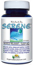 SERENE Muscle Relaxant Natural Sleep Aid Powerful Supplement 60 Capsules... - $39.74