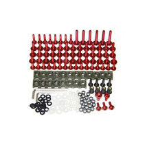 CNC Aluminum Bolt Kits for Honda CBR600RR 2007 2008 Screws F5 07 08 Fast... - $35.02