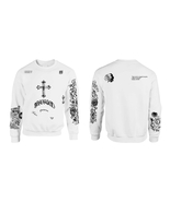 UPDATED VERSION Crewneck Sweatshirt Justin Bieber Tattoos  - $32.00