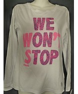 Soffe Small S T-Shirt Shirt Long Sleeve We Won't Stop Soffee NWT - $9.49