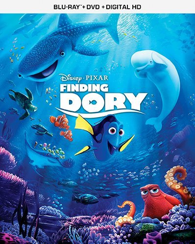 Disney's Finding Dory (2016, 3-Disc Blu-ray / DVD]
