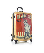 "Heys Vintage Traveler 30"" New York NYC Suitcase... - $152.99"