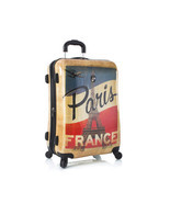 Heys Vintage Traveler 26 Paris Eiffel Tower Lug... - $149.99