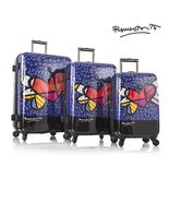 Heys Romero Britto Luggage Hearts with Wings 3p... - $548.99