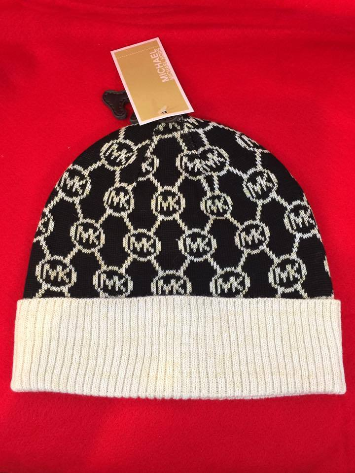 Primary image for NWT MICHAEL Michael Kors Winter hat  with Gold Shimmer $48