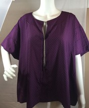 MICHAEL Michael Kors, Chain Lace Up Poncho Tunica Size Small - $18.59