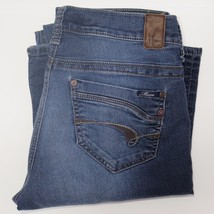 Mavi Molly Boot Cut Women's Stretch Faded Blue Jeans Size 28 X 32 -Q - $14.10