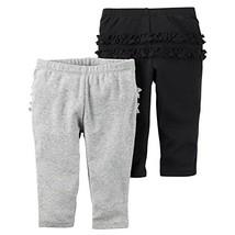 Carter's Baby Girls' 2-Pack Pants Set 3 Months - $32.81