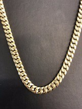 "14K Yellow Gold Hollow 6mm Miami Cuban Chain Necklace 32"" - $1,930.50"