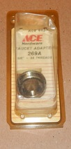 """Ace Hardware #44347 Faucet Adapter 269A Male 5/8"""" x 24 Threads USA 97M - $6.89"""