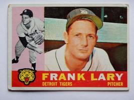 Frank Lary #85 1960 Topps Baseball Card (Detroit Tigers) - $2.75