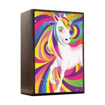 Inspired Home Rainbow Unicorn Swirls Box Sign Size 4x5.5 - $14.70