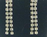 V94 double strand rhinestone earrings thumb155 crop