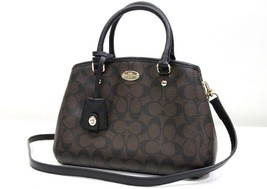 AUTHENTIC COACH Signature 2 Way Hand Bag Brown ... - $340.00