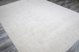 "10x13 (9'6"" x 12""11"") Plush Modern Contemporary Ivory Cream Shabby Chic Area Rug - $1,499.00"