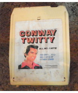 Conway Twitty  8 Track Cartridge Tape  (RP) - $6.50