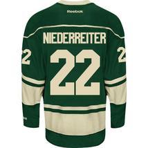 Nino Niederreiter Minnesota Wild #22 Alternate ... - $56.99