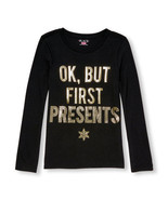 The Childrens Place Girls Christmas Long Sleeve Top 7-8,10-12,14,or 16 NWT - $12.99