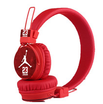 Jordan 2017 Bluetooth, FM Radio, Sd Card Headphones Red - $30.00