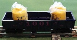 Nos Lionel Train Gondola Box Car 1001 For Disney Mickey's World Tour Train Set - $42.32