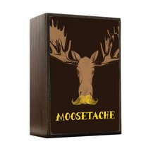 Inspired Home Moosestache Mustache Box Sign Size 4x5.5 - $14.70