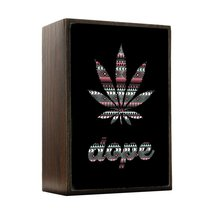 Inspired Home Dope - Marijuana Leaf - Aztec Pattern Box Sign Size 4x5.5 - $14.70