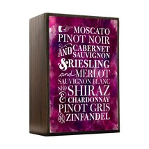 Inspired Home Wine Please Box Sign Size 4x5.5 - $14.70