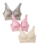 Rhonda Shear Pin Up Girl Lacy Bra 3 pack SIZE 1X - $16.82