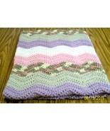 Handmade, Crochet Baby Blanket, Baby Bedding, Gift, Crib, Security Blank... - $55.00