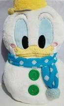 "Disney Resort Tokyo Donald Duck Snow Plush 2012 Collectible Pillow Buddy 22""  - $77.59"