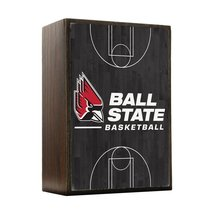 Inspired Home Ball State Cardinals - Basketball Court Box Sign Size 4x5.5 - $14.70