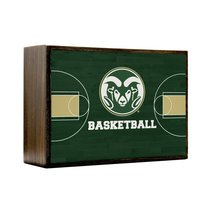 Inspired Home Colorado State Rams - Basketball Court Box Sign Size 4x5.5 - $14.70