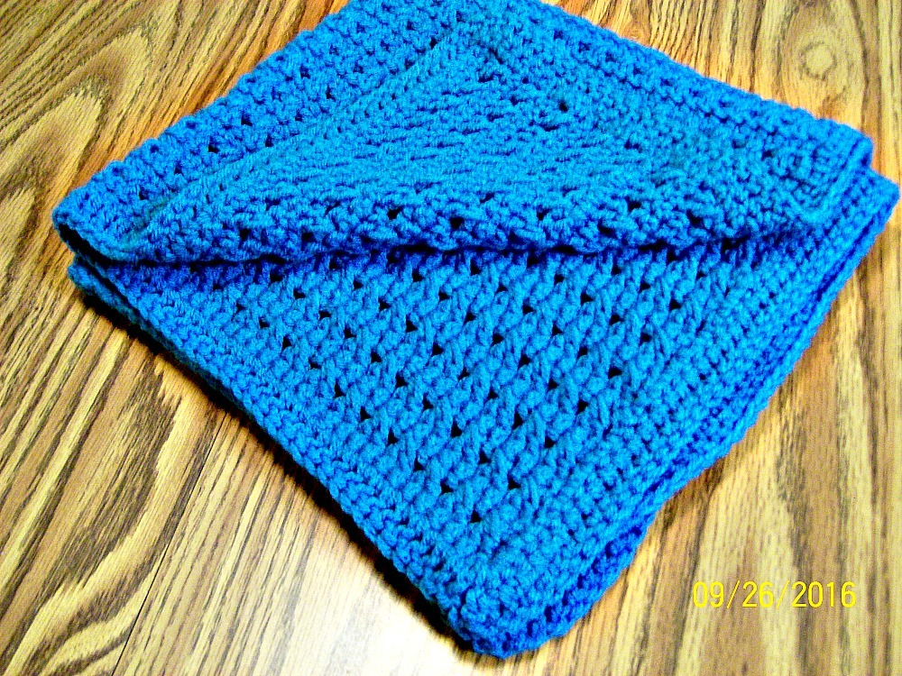 Hugs And Kisses Crochet Baby Blanket Pattern : Handmade, Crochet Baby Blanket, Baby Bedding, Gift, Crib ...