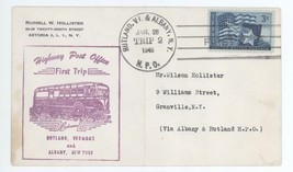 First Trip Highway Post Office 1949 Between Rutland VT Albany Trip 2 HPO... - $2.99