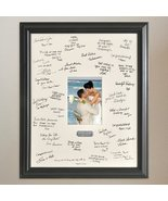 Personalized Gift - Wedding Wishes Signature Guest Book Picture Photo/Ph... - $54.78