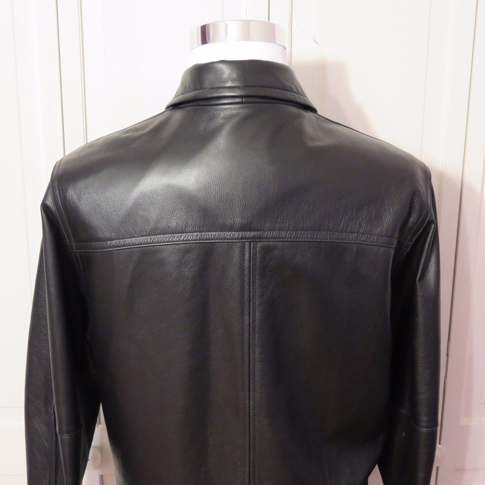 16c50c40e Roundtree & Yorke Men's Leather Jacket Size and 50 similar items
