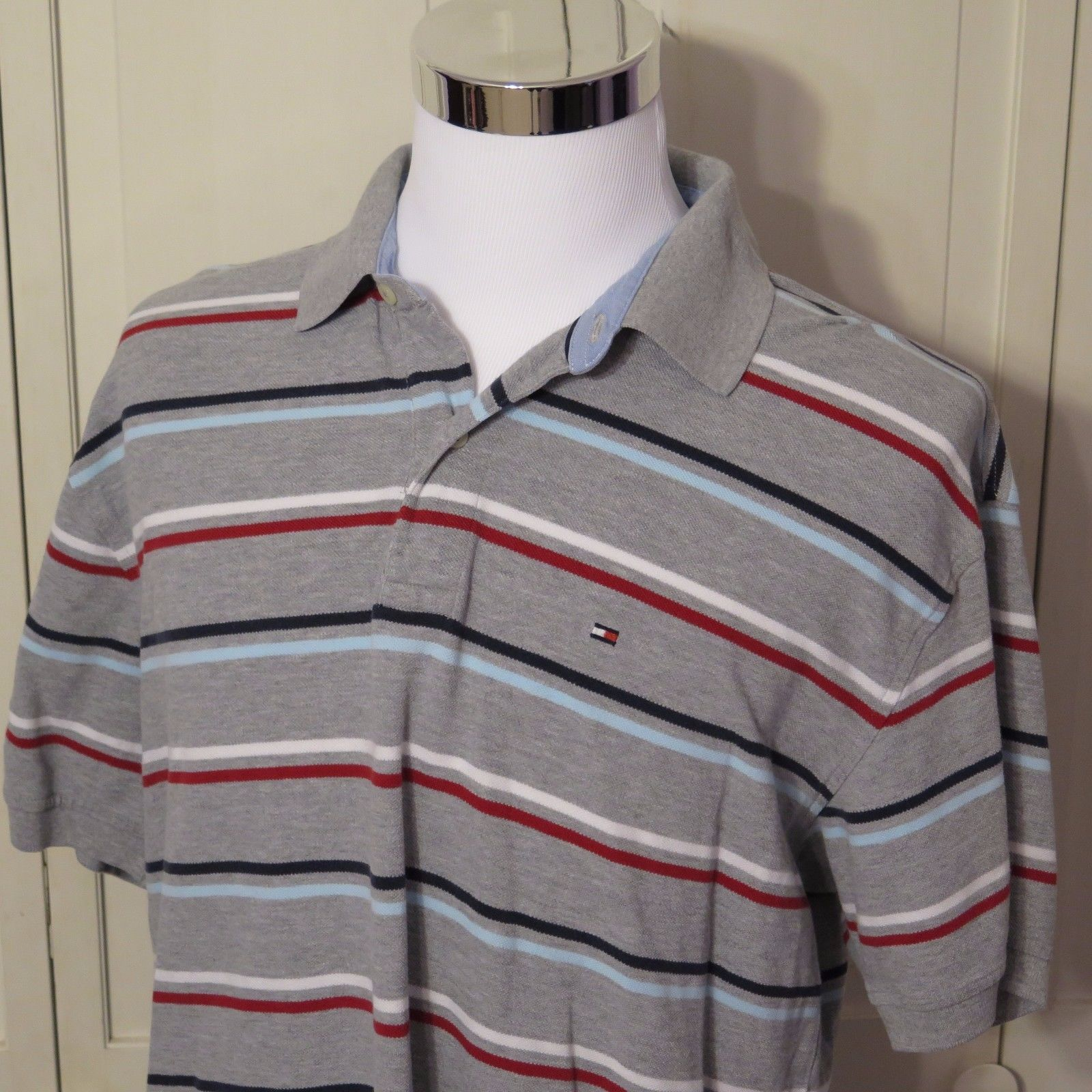 8818de52 Tommy Hilfiger Mens Short Sleeve Polo Rugby and 50 similar items