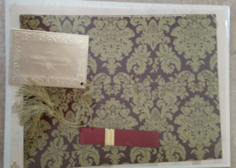 Vintage Victoria's Secret Gift Wrap , Box , Tissue, Bow , Tag , Gift Set Rare  - $14.99