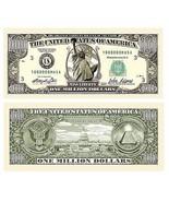 10 x $1 000 000 One Million Dollar Bills Real Size Fake Money Gag Prank ... - £6.64 GBP
