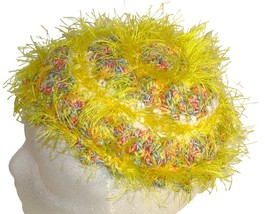 Yellow Pixie Points Crochet Beanie Hat - $11.80